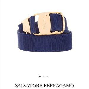 Salvatore Ferragamo Logo Waist Belt-